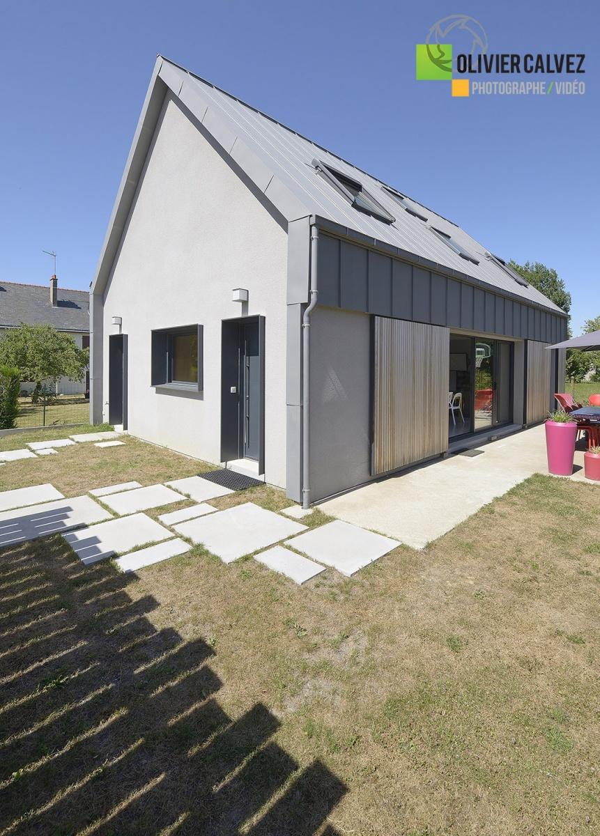 Photographie d'une maison Logémaine