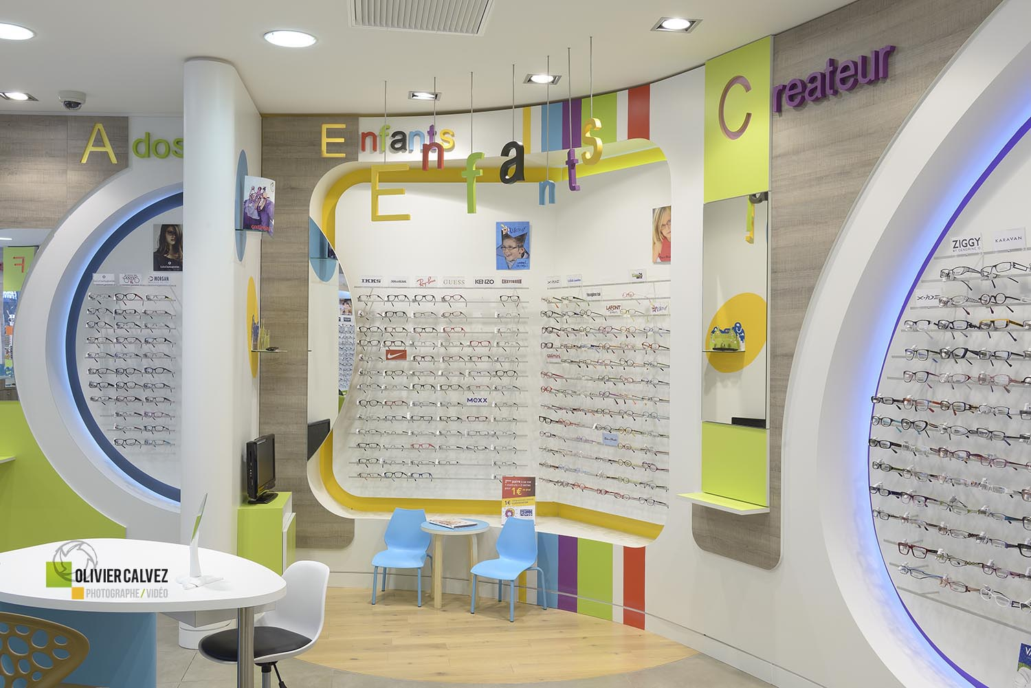 Agencement magasin opticiens mutualistes atoll angers studio sd - Atoll angers magasin ...